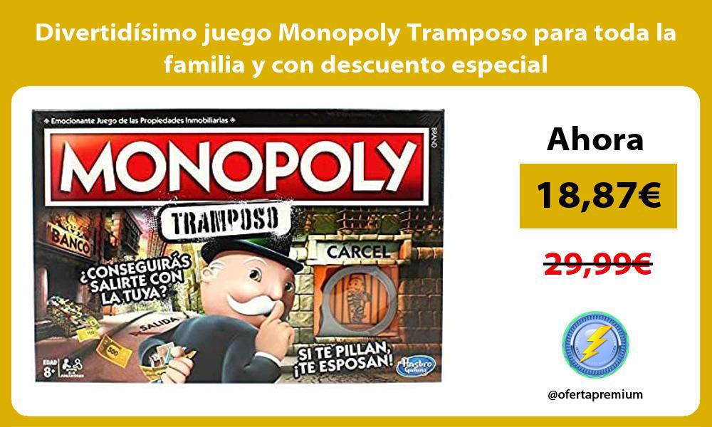 Divertidisimo juego Monopoly Tramposo para toda la familia y con descuento especial