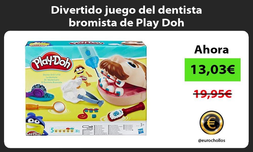 Divertido juego del dentista bromista de Play Doh