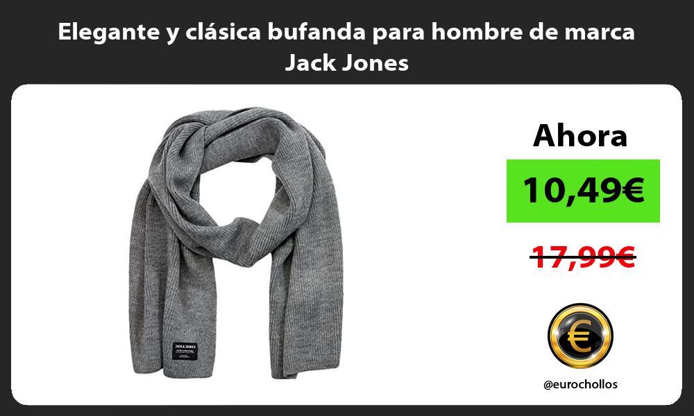 Elegante y clasica bufanda para hombre de marca Jack Jones