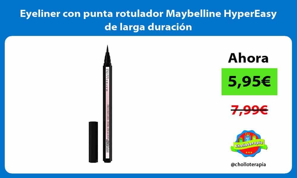 Eyeliner con punta rotulador Maybelline HyperEasy de larga duración