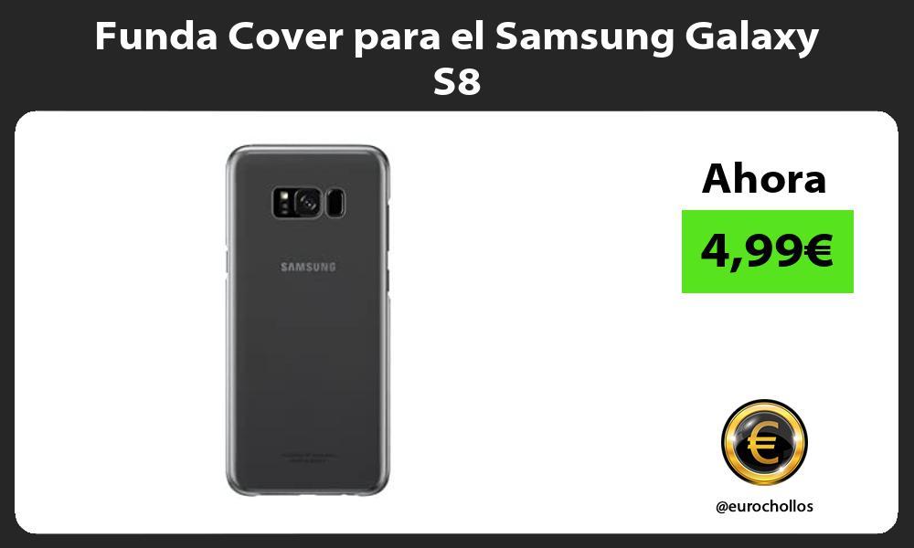 Funda Cover para el Samsung Galaxy S8