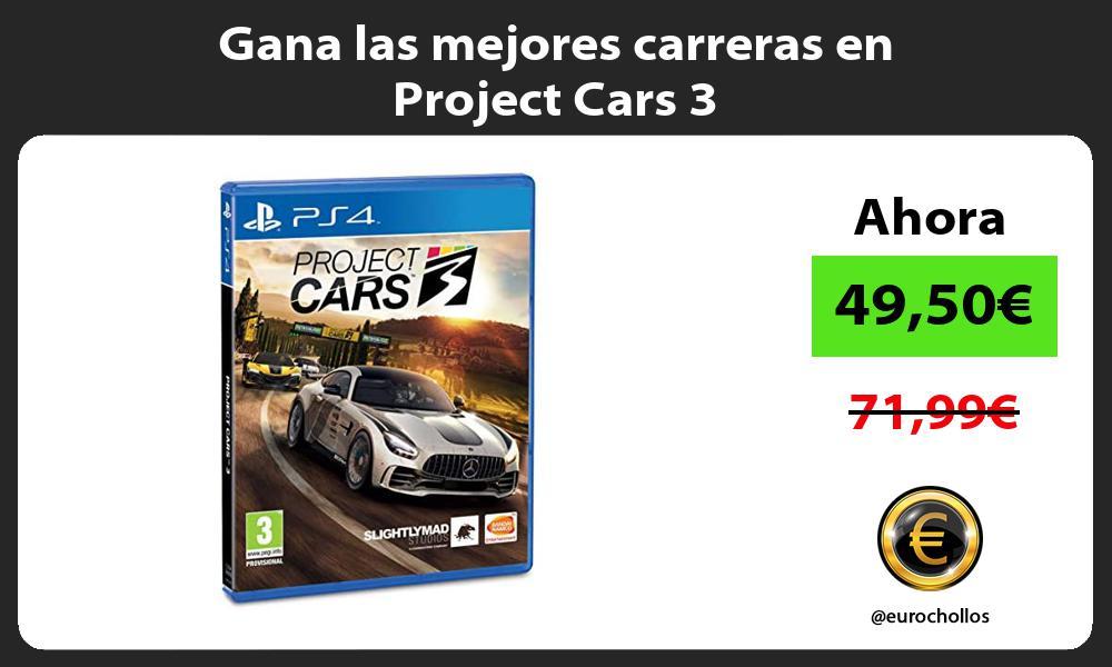 Gana las mejores carreras en Project Cars 3