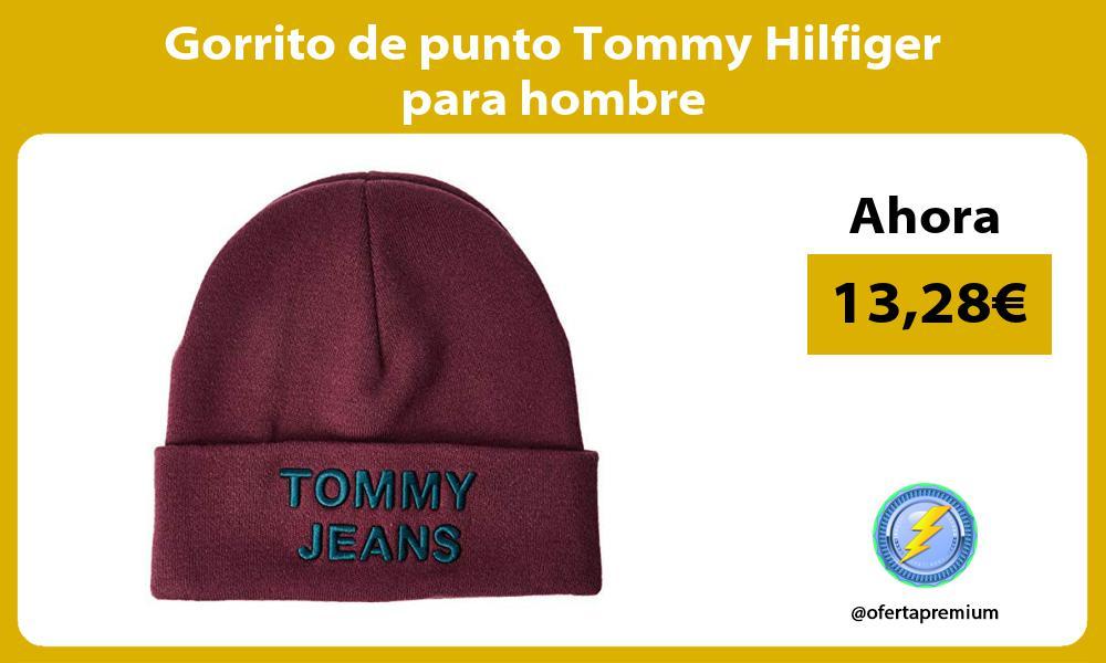 Gorrito de punto Tommy Hilfiger para hombre