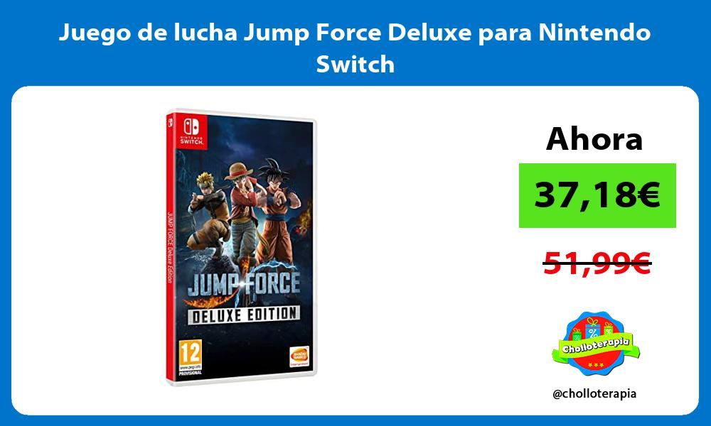 Juego de lucha Jump Force Deluxe para Nintendo Switch
