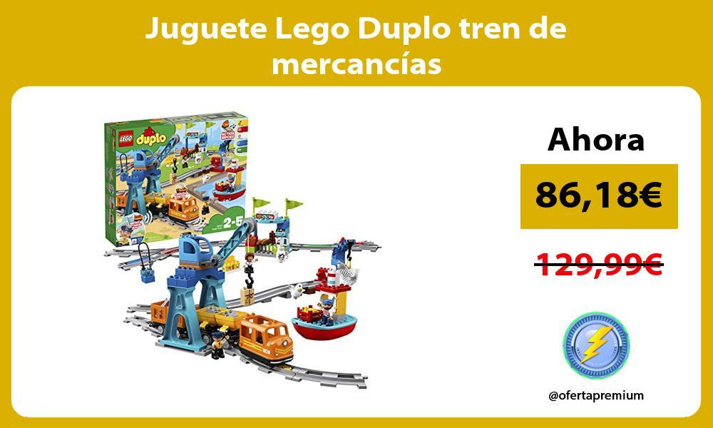 Juguete Lego Duplo tren de mercancías