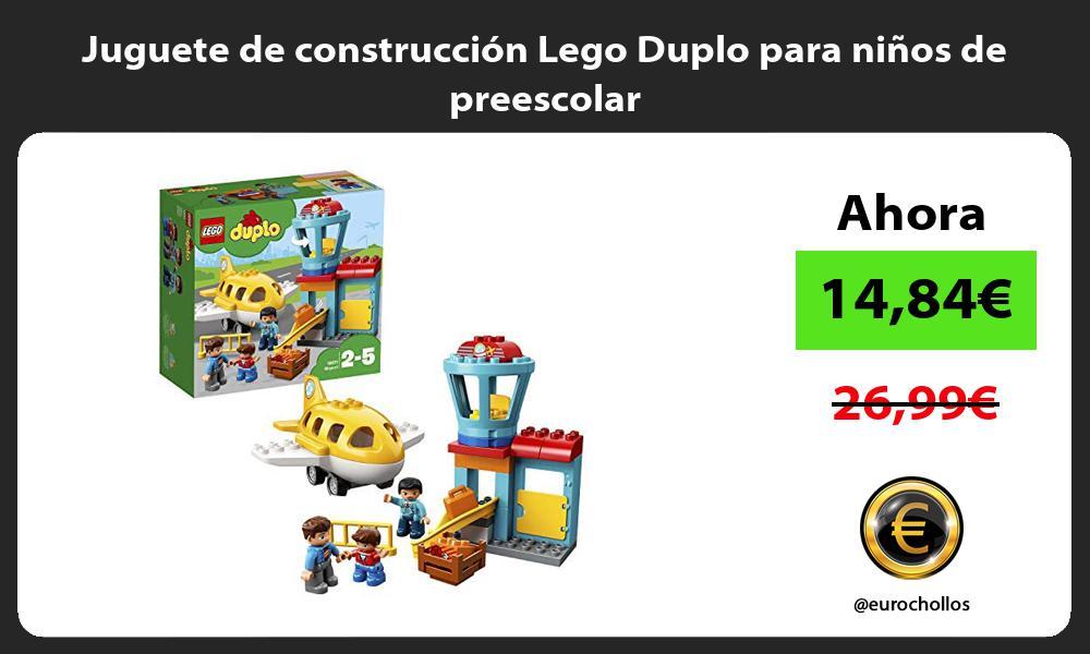 Juguete de construcción Lego Duplo para niños de preescolar