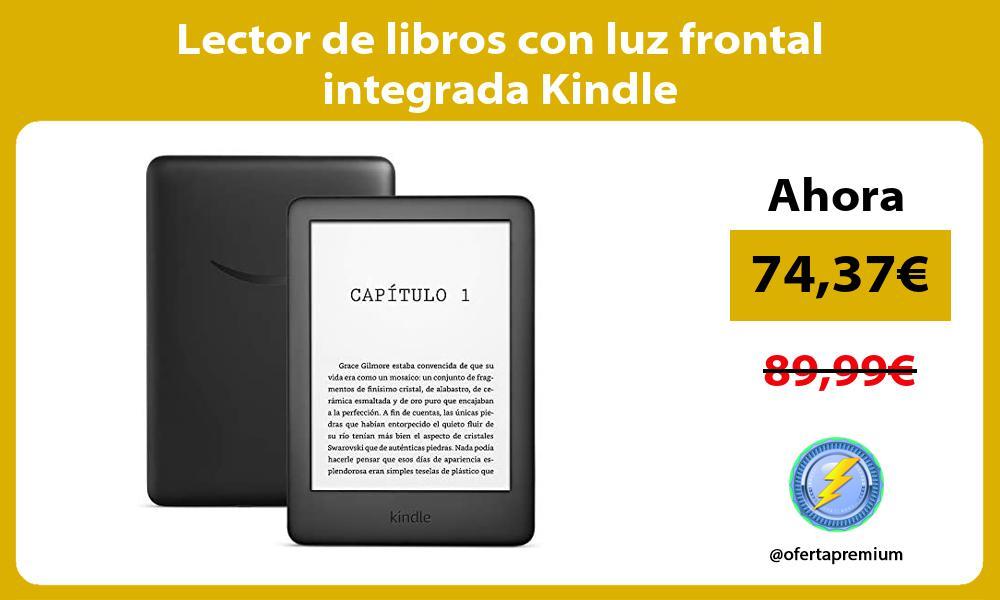 Lector de libros con luz frontal integrada Kindle