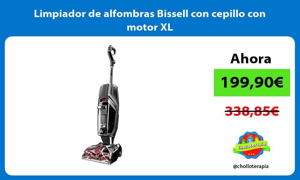 Limpiador de alfombras Bissell con cepillo con motor XL