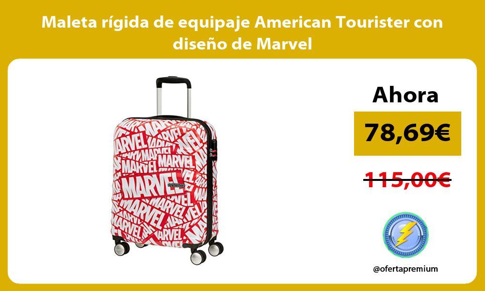 Maleta rigida de equipaje American Tourister con diseno de Marvel