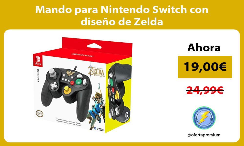 Mando para Nintendo Switch con diseño de Zelda