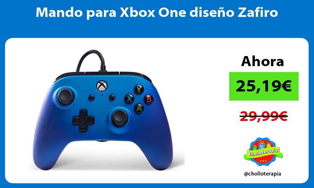 Mando para Xbox One diseno Zafiro