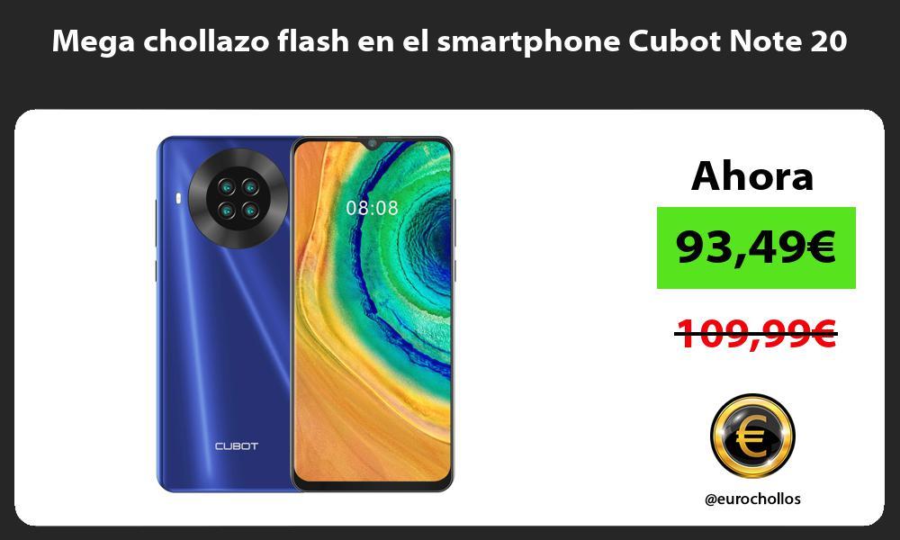 Mega chollazo flash en el smartphone Cubot Note 20