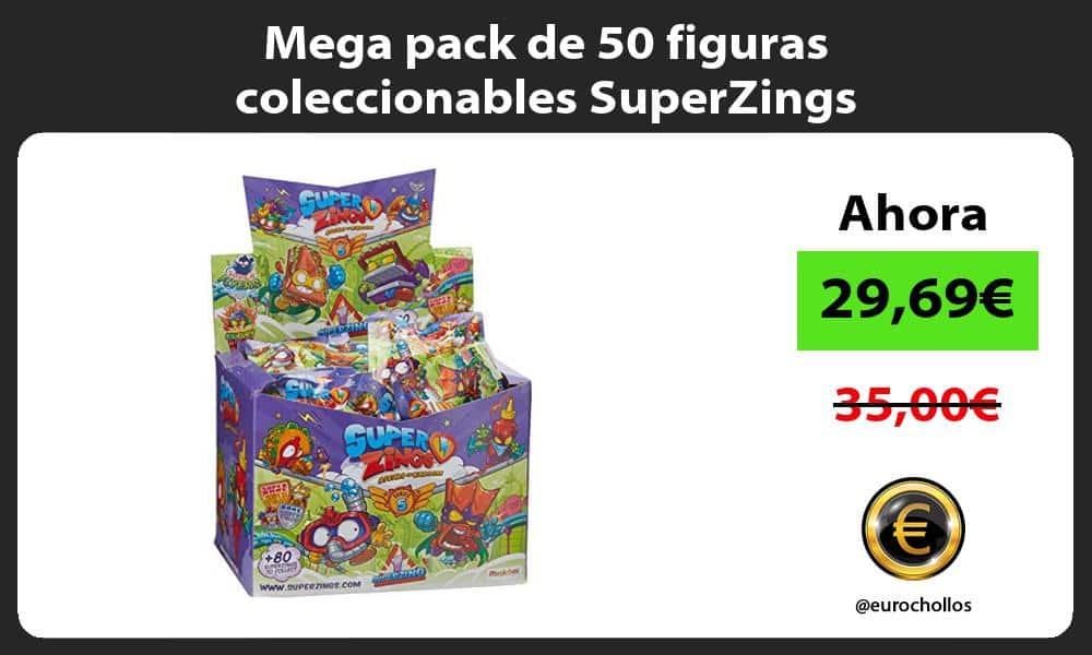 Mega pack de 50 figuras coleccionables SuperZings