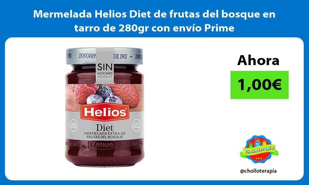 Mermelada Helios Diet de frutas del bosque en tarro de 280gr con envío Prime