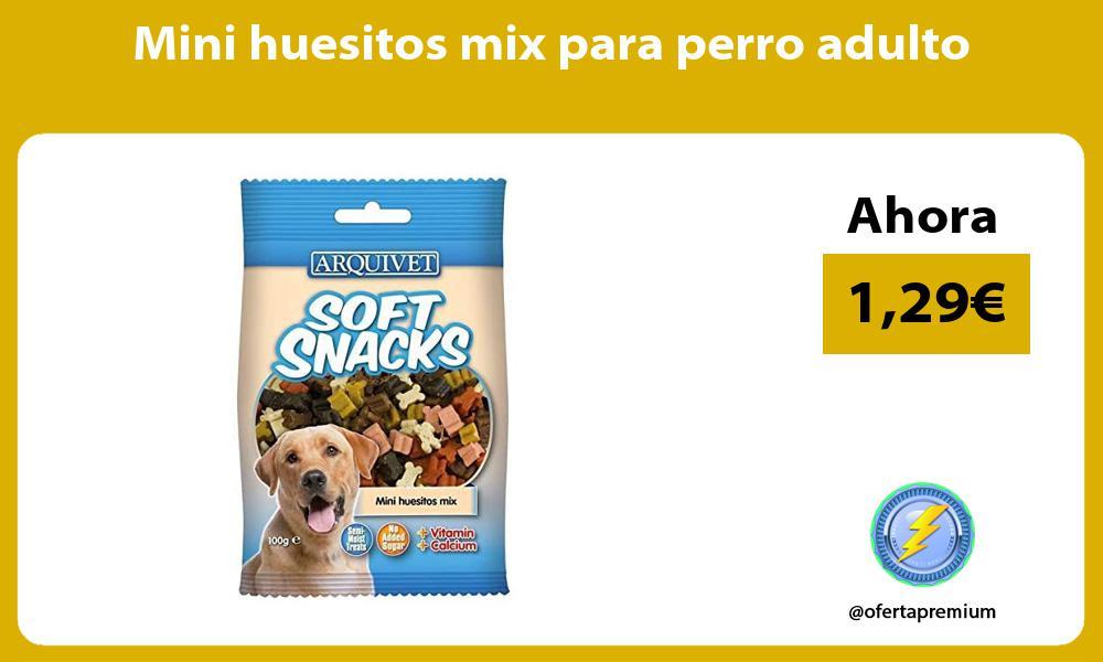 Mini huesitos mix para perro adulto