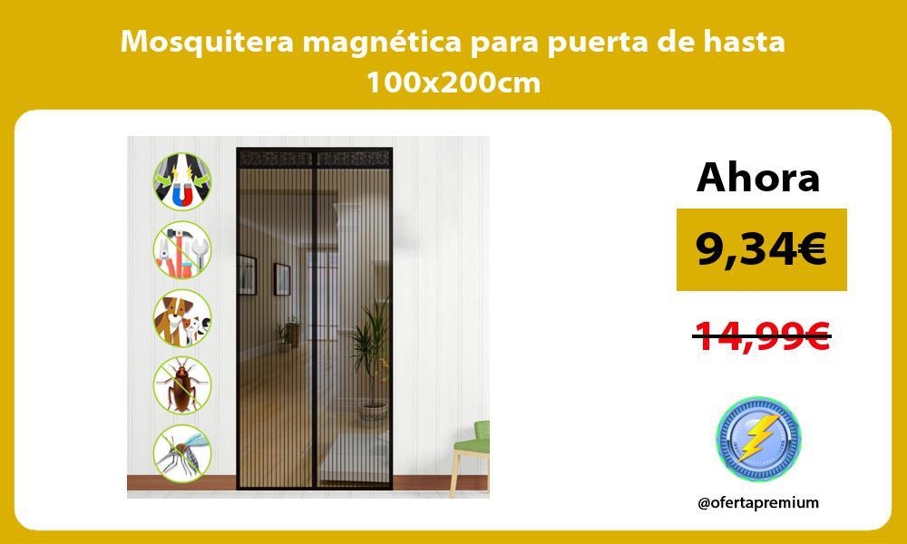 Mosquitera magnetica para puerta de hasta 100x200cm
