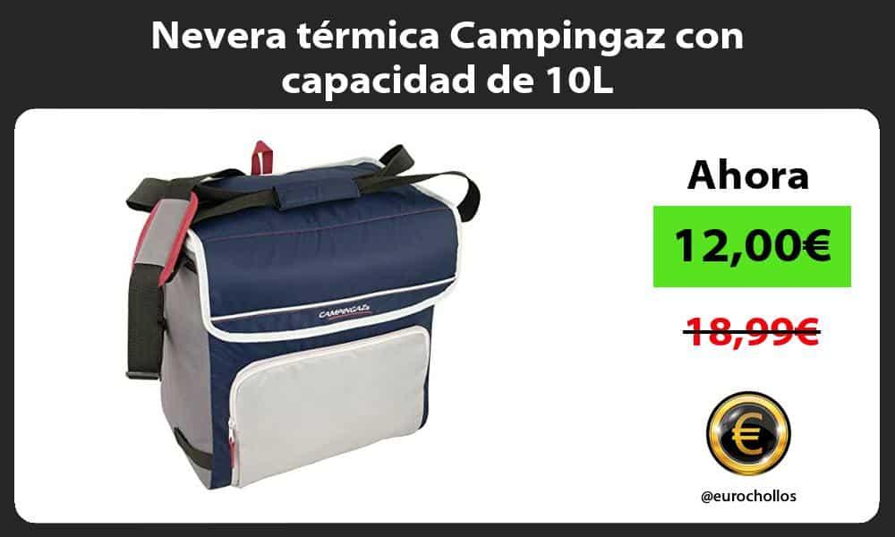 Nevera térmica Campingaz con capacidad de 10L