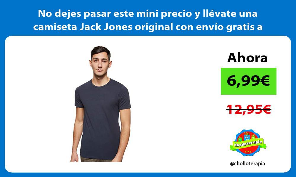No dejes pasar este mini precio y llevate una camiseta Jack Jones original con envio gratis a casa