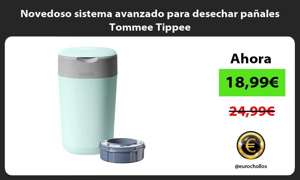 Novedoso sistema avanzado para desechar panales Tommee Tippee