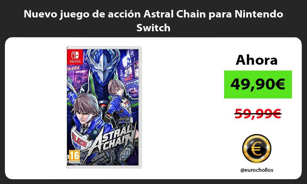 Nuevo juego de accion Astral Chain para Nintendo Switch