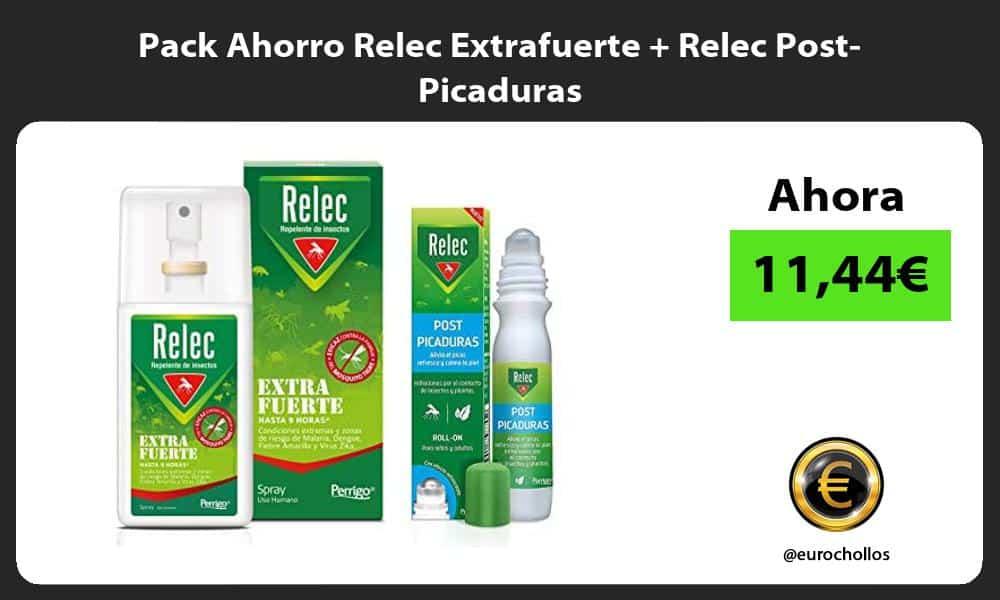 Pack Ahorro Relec Extrafuerte Relec Post Picaduras