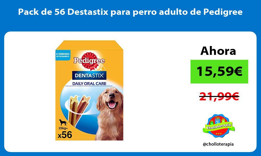 Pack de 56 Destastix para perro adulto de Pedigree