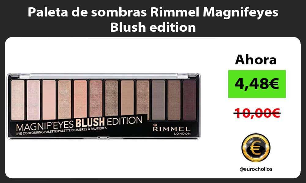Paleta de sombras Rimmel Magnifeyes Blush edition