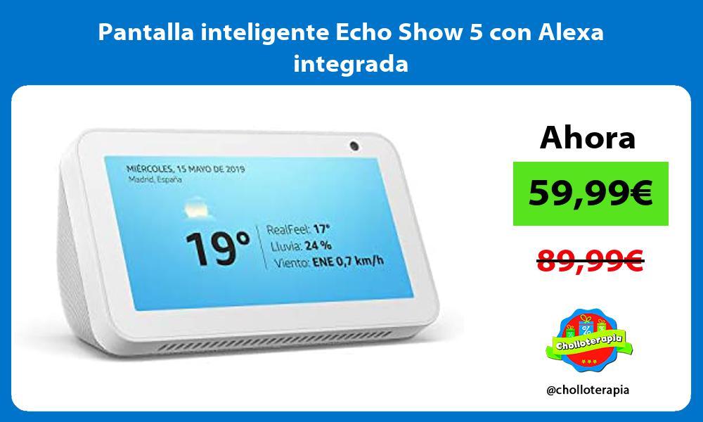 Pantalla inteligente Echo Show 5 con Alexa integrada