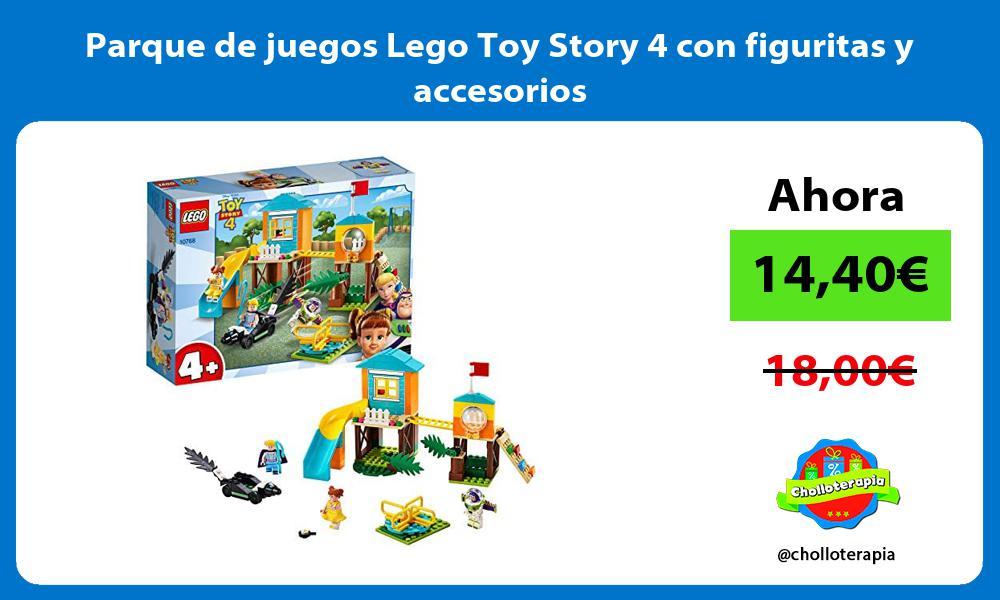 Parque de juegos Lego Toy Story 4 con figuritas y accesorios