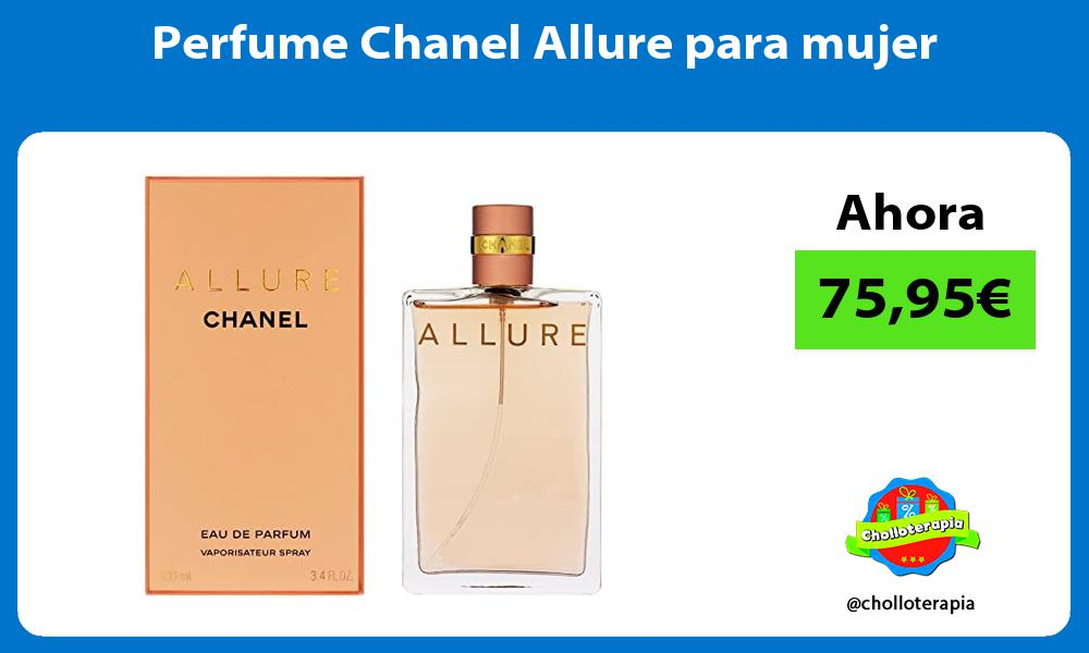 Perfume Chanel Allure para mujer