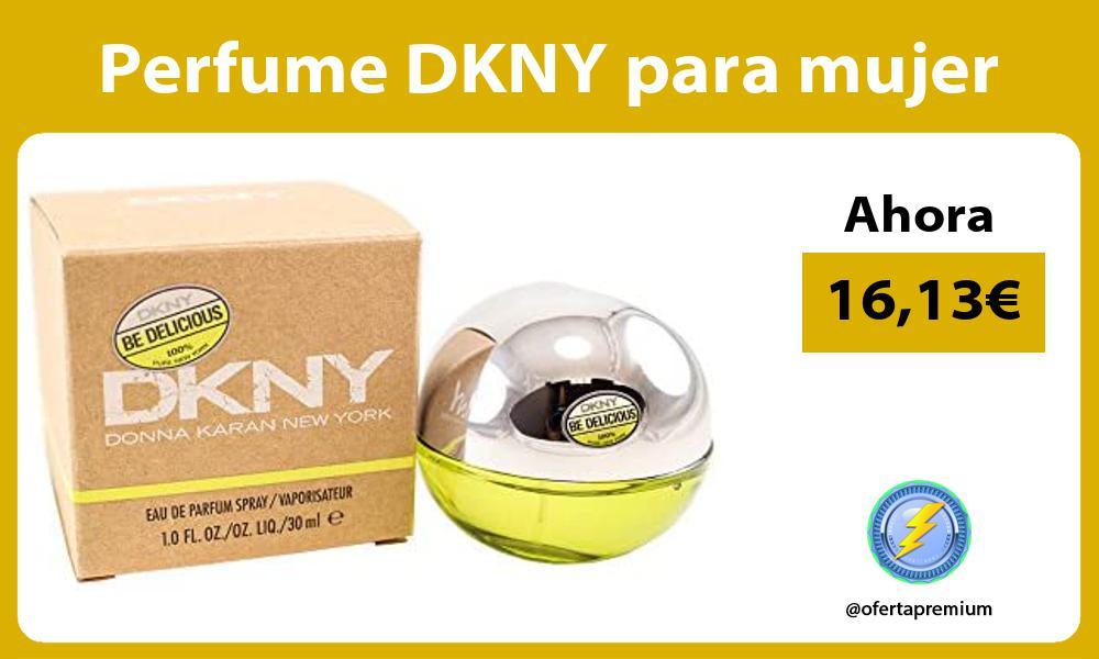 Perfume DKNY para mujer