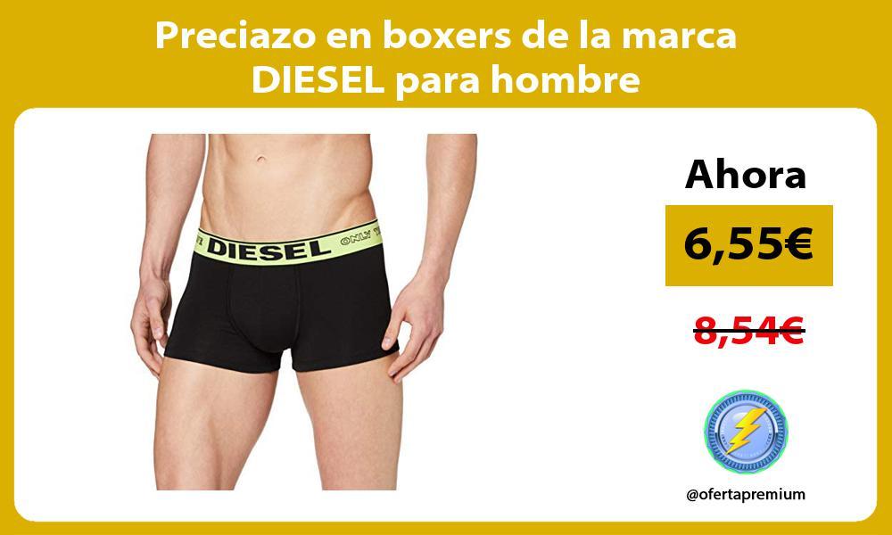 Preciazo en boxers de la marca DIESEL para hombre