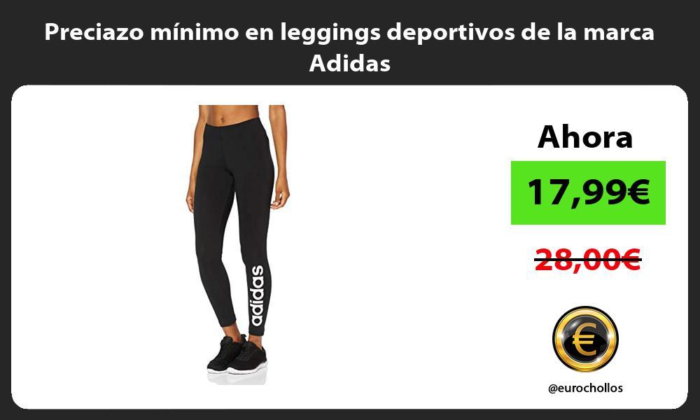 Preciazo minimo en leggings deportivos de la marca Adidas