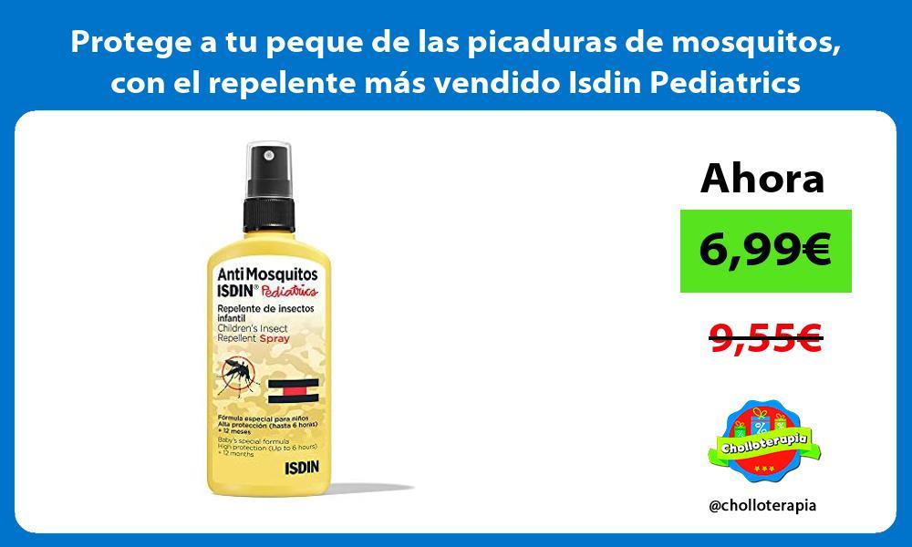Protege a tu peque de las picaduras de mosquitos con el repelente mas vendido Isdin Pediatrics
