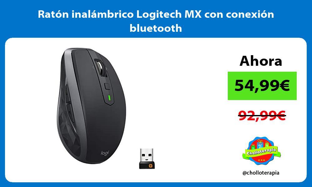 Ratón inalámbrico Logitech MX con conexión bluetooth