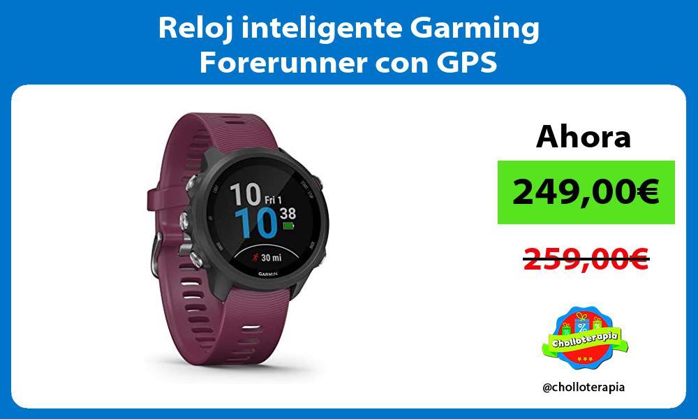 Reloj inteligente Garming Forerunner con GPS