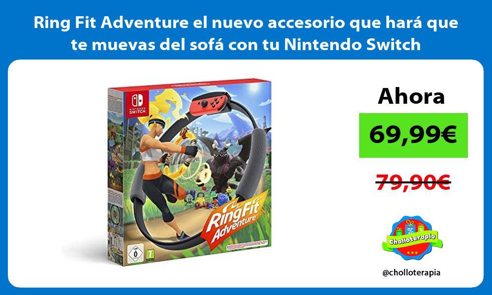 Ring Fit Adventure el nuevo accesorio que hara que te muevas del sofa con tu Nintendo Switch