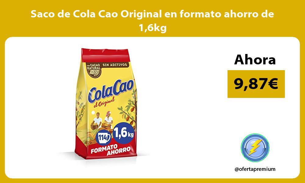 Saco de Cola Cao Original en formato ahorro de 16kg