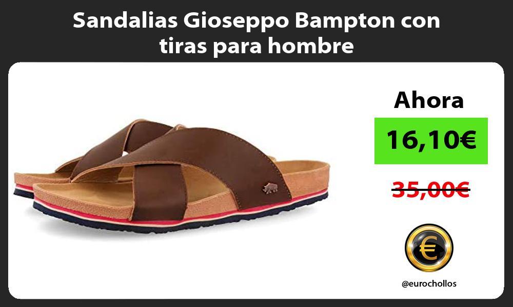 Sandalias Gioseppo Bampton con tiras para hombre