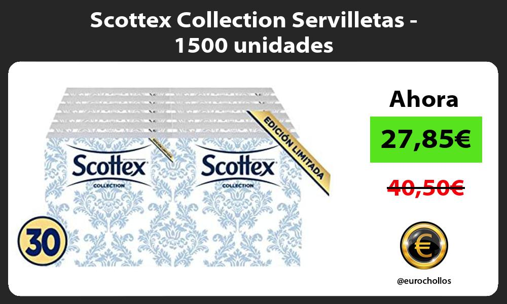 Scottex Collection Servilletas 1500 unidades