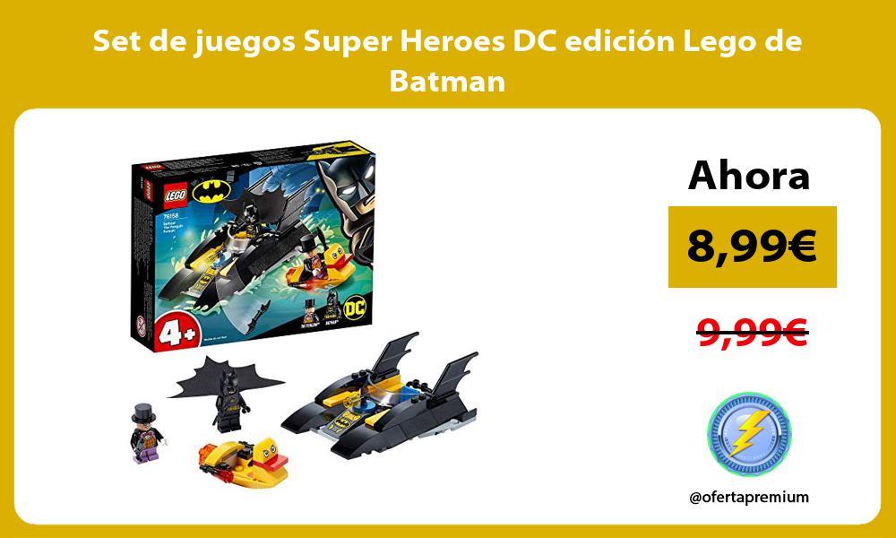 Set de juegos Super Heroes DC edicion Lego de Batman