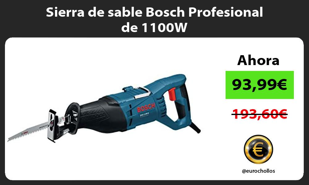 Sierra de sable Bosch Profesional de 1100W