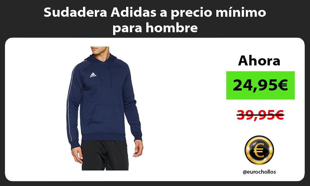 Sudadera Adidas a precio minimo para hombre