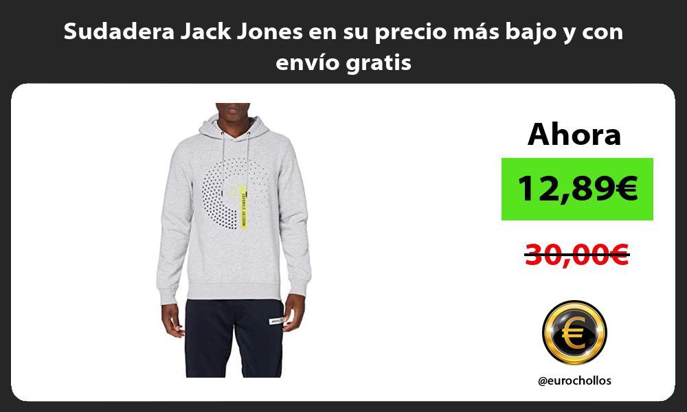 Sudadera Jack Jones en su precio mas bajo y con envio gratis