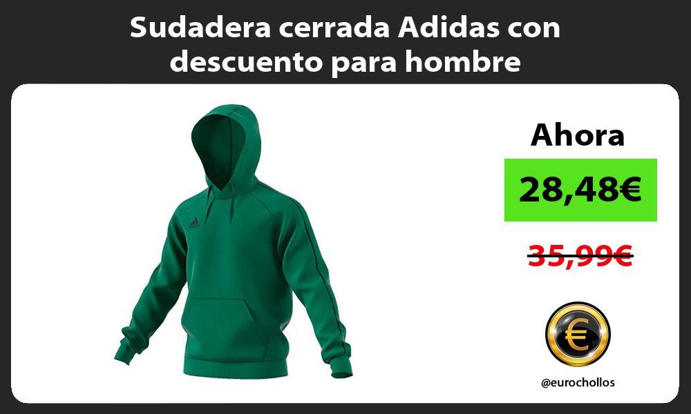 Sudadera cerrada Adidas con descuento para hombre