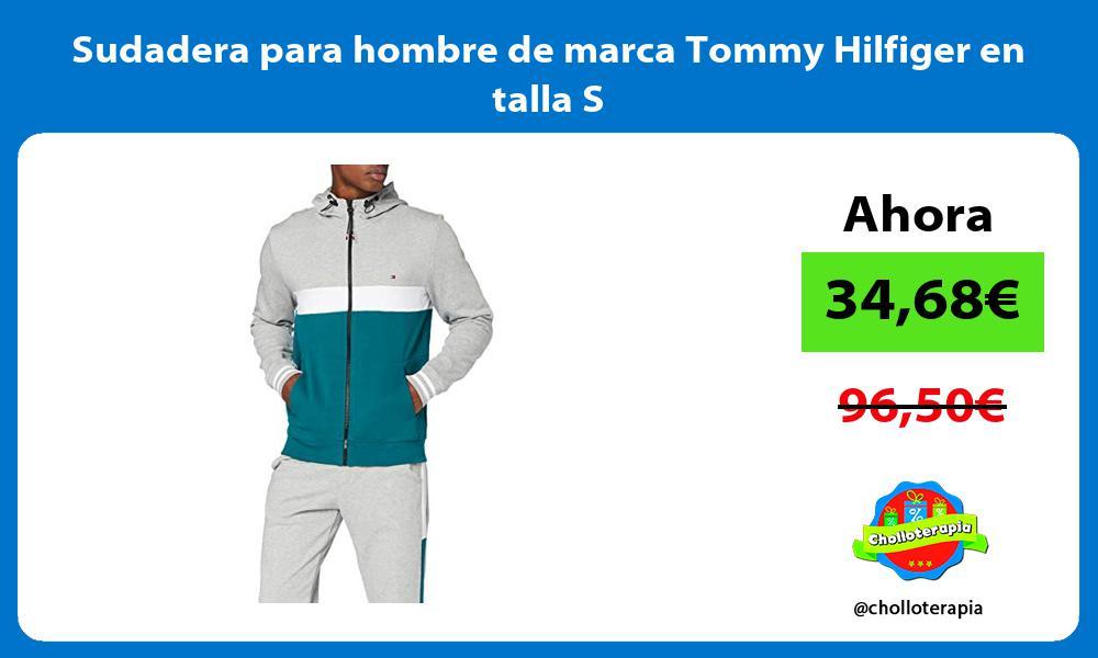 Sudadera para hombre de marca Tommy Hilfiger en talla S