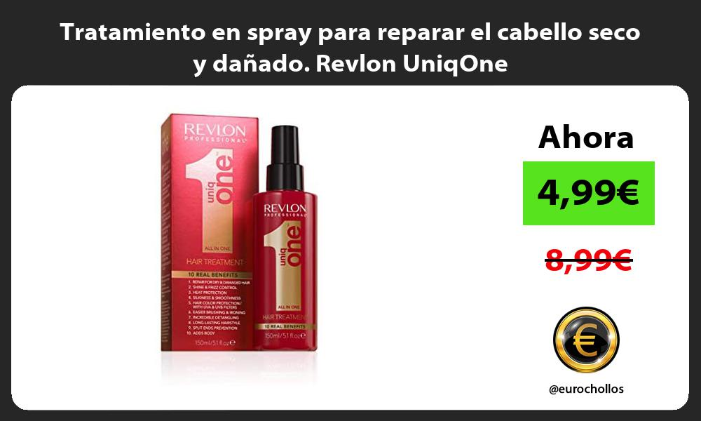 Tratamiento en spray para reparar el cabello seco y dañado Revlon UniqOne