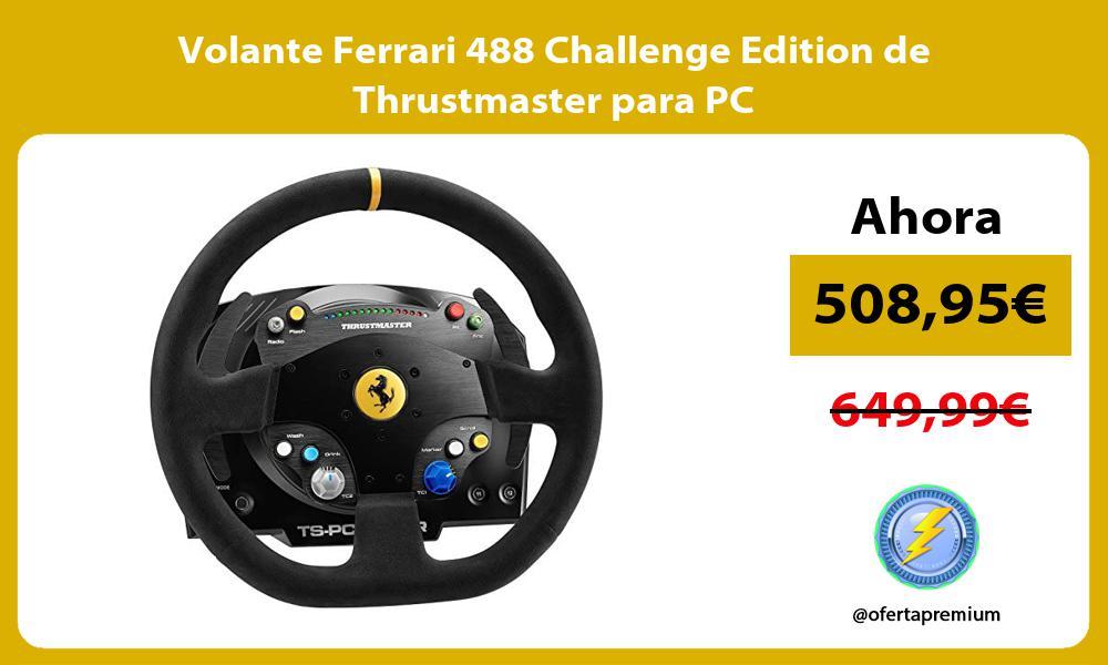 Volante Ferrari 488 Challenge Edition de Thrustmaster para PC