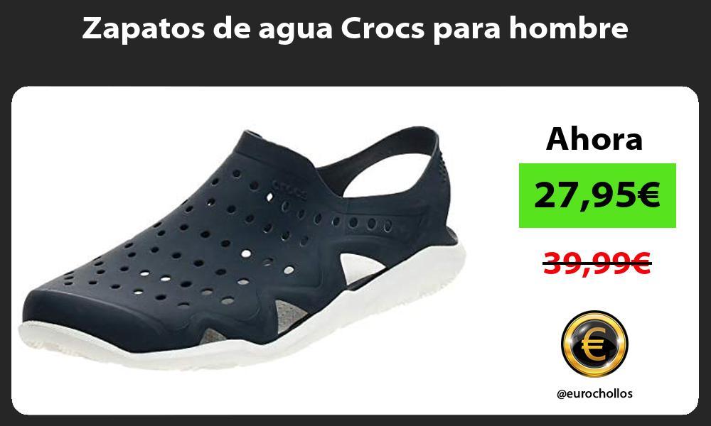 Zapatos de agua Crocs para hombre