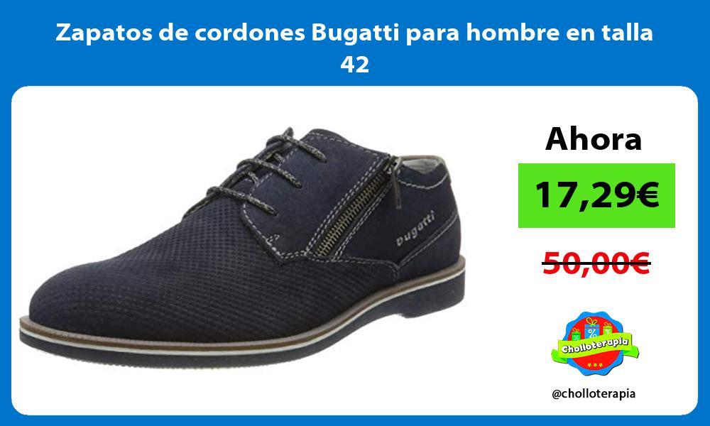 Zapatos de cordones Bugatti para hombre en talla 42